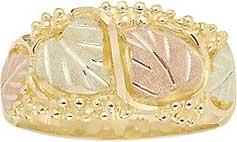 stamper ladies wedding band - Black Hills Gold Wedding Rings